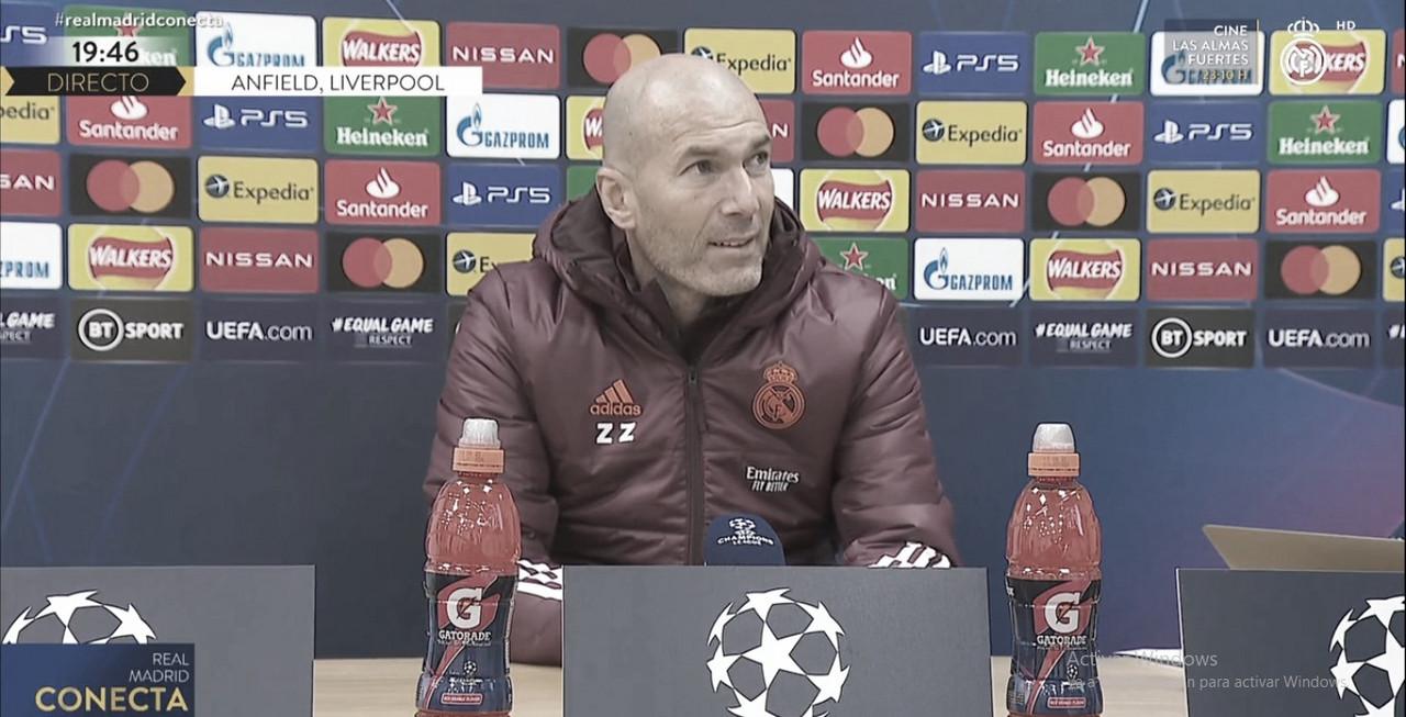 """Zinedine Zidane: """"El equipo está preparado para competir, no vamos a gestionar nada iremos a ganar"""""""