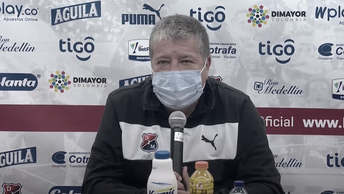 """Hernán Darío Gómez: """"Hay que ganar para dar soluciones a tantas incógnitas y confirmar el buen trabajo"""""""