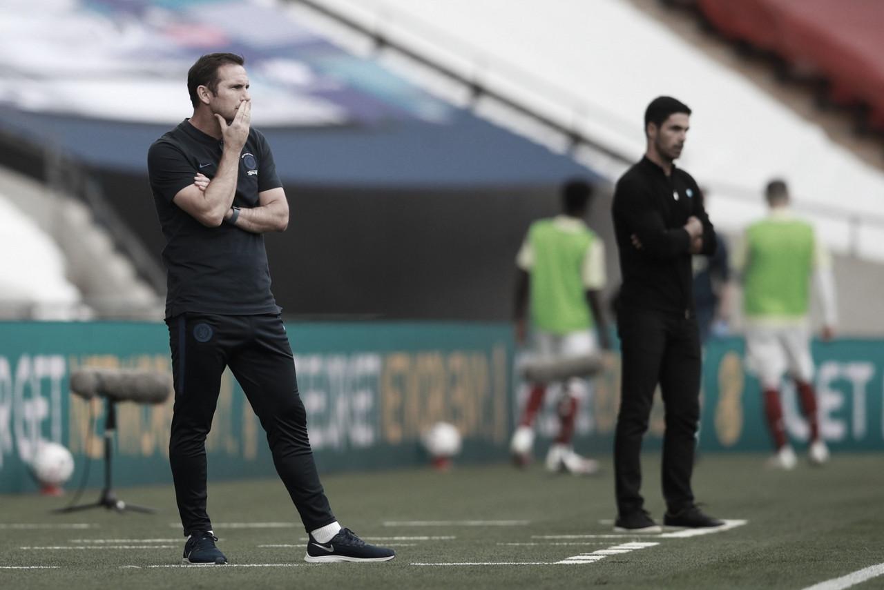 """Lampard assume culpa na derrota do Chelsea na final da Copa da Inglaterra: """"Permitimos que o Arsenal voltasse ao jogo"""""""