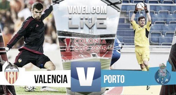 Resultado Porto (5) - Valencia (4) en Colonia Cup 2015 (0-0)