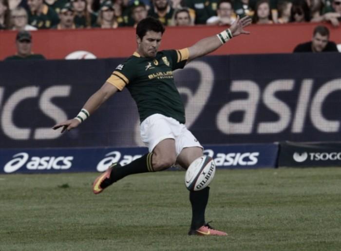 Los Springboks ganaron en su casa