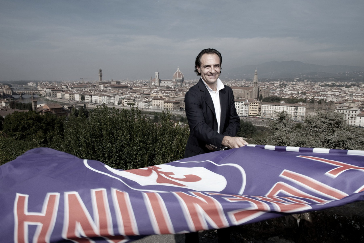 Dez anos depois, Cesare Prandelli retorna ao comando técnico da Fiorentina