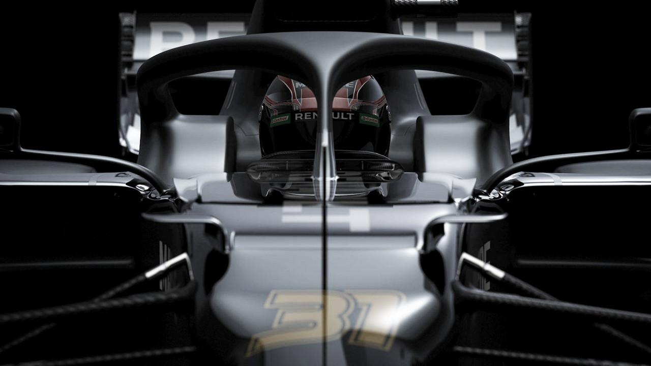 Renault juega al despiste en la presentación del R.S.20