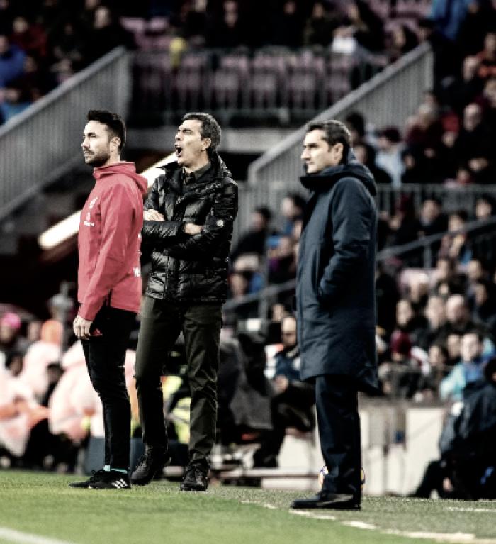 """Muñiz: """"El equipo tiene que estar satisfecho del trabajoy no del resultado"""""""
