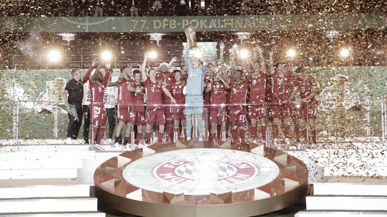 Er ist Champion! Bayern derrota Leverkusen e conquista Copa da Alemanha pela 20ª vez