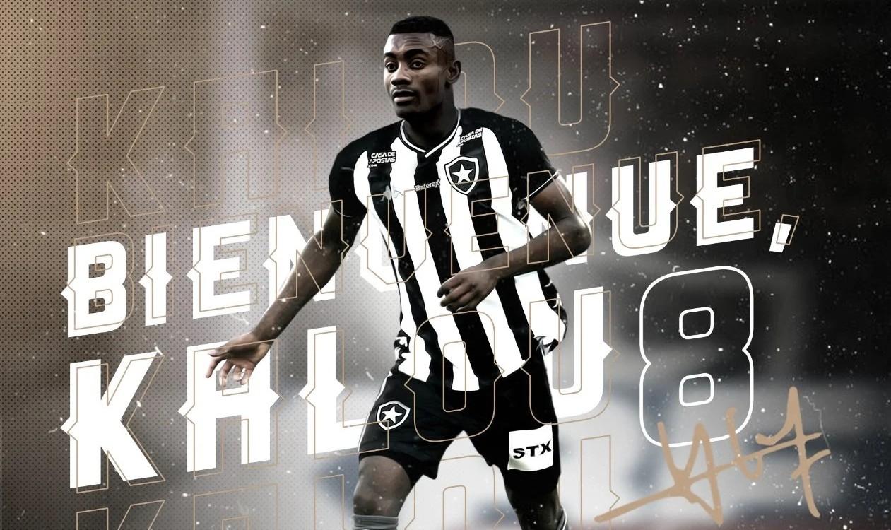 Ex-Hertha Berlin, marfinense Kalou é anunciado oficialmente pelo Botafogo