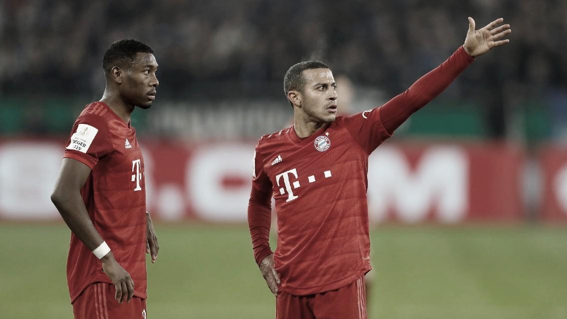 Dilema no Bayern: Alaba e Thiago Alacântara saem ou ficam?