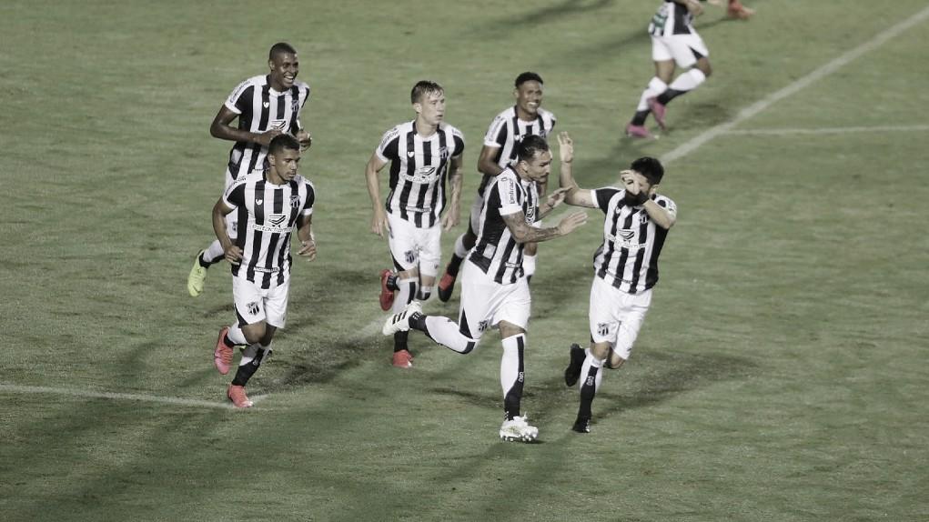 Com pênalti duvidoso, Ceará vence CRB e avança na Copa do Nordeste