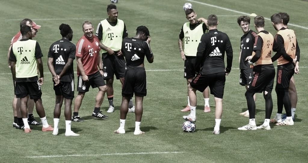 Bayern de Munique volta aos treinos de olho na Champions League