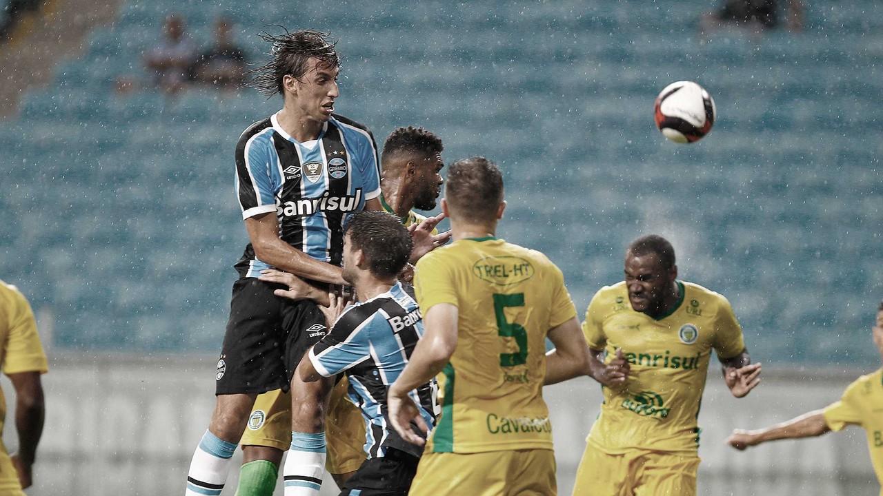 Para se classificar de forma antecipada, Grêmio recebe Ypiranga no CT Hélio Dourado