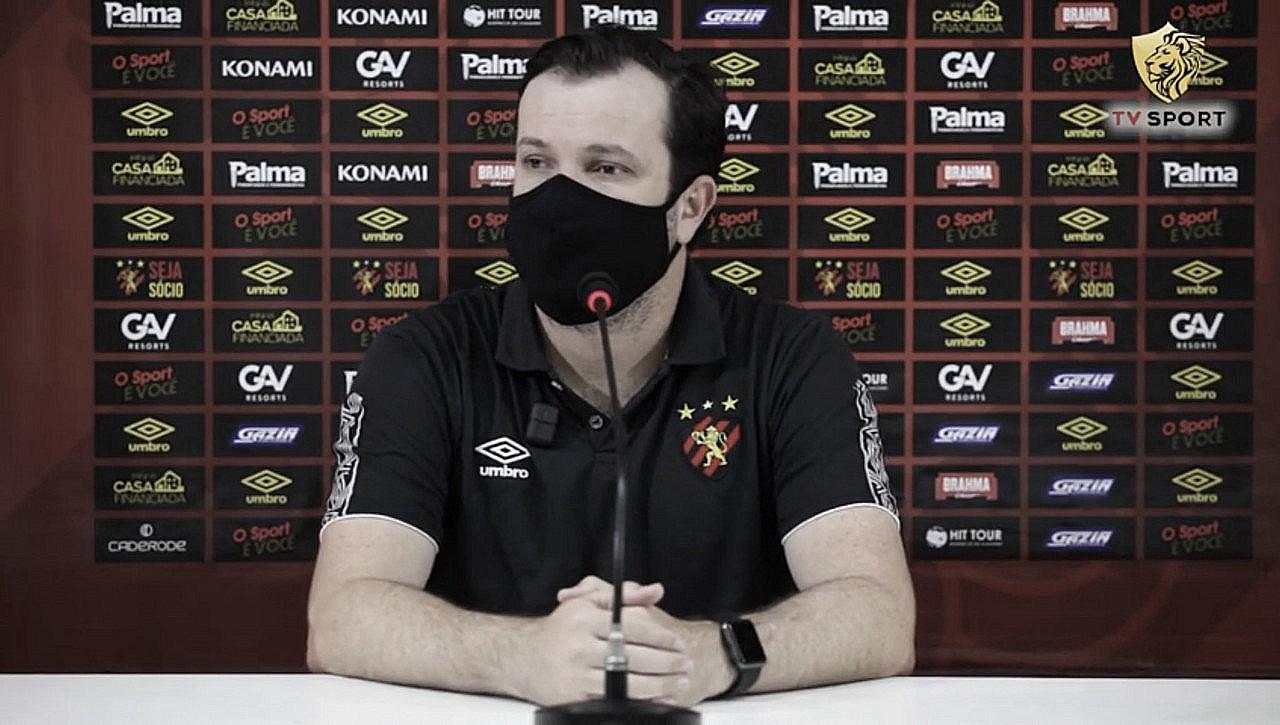 Fora da Copa do Nordeste, Daniel Paulista vê Sport melhor que Fortaleza e foca no Pernambucano