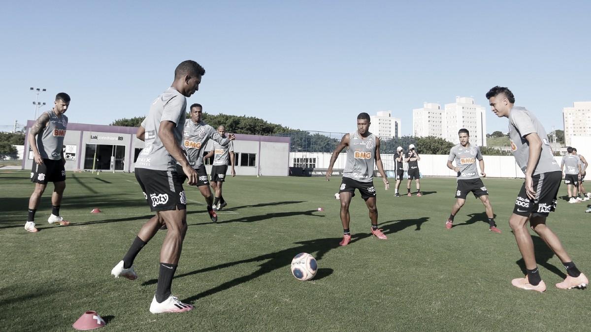 Cantillo e Jô estão à disposição de Tiago Nunes para Corinthians encarar Bragantino