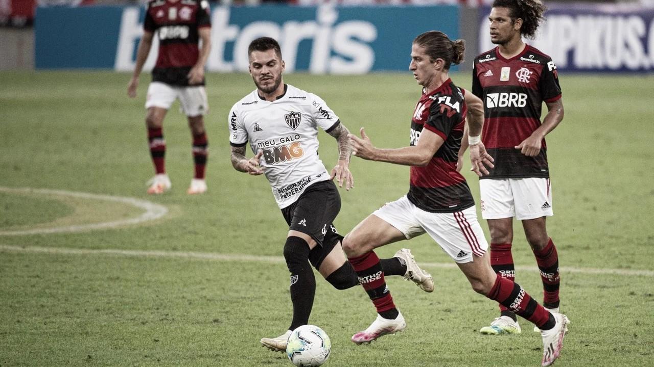 Sem ritmo, Flamengo sofre diante do Galo e estreia com derrota no Brasileiro