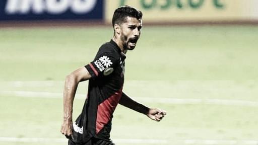 """Autor de gol contra o Flamengo, Jorginho admite que teve Covid-19: """"Fiquei 14 dias isolado"""""""