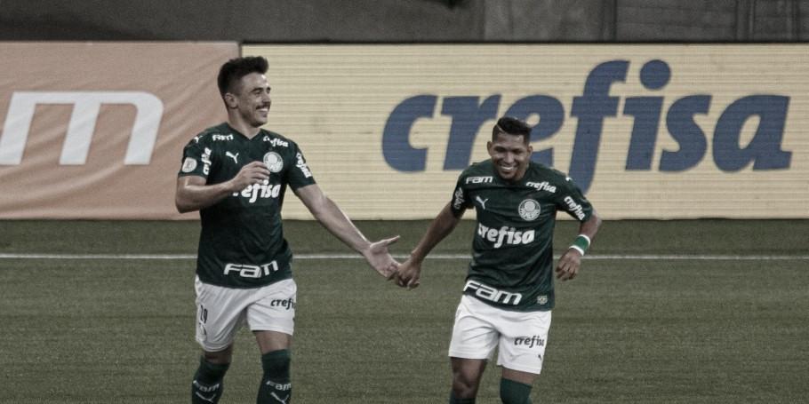 Eficiente e dominante, Palmeiras goleia Bahia e dorme no G-4 do Brasileirão