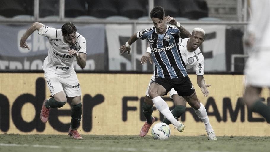 Mesmo em desvantagem, Ferreirinha acredita na virada do Grêmio no Allianz Parque