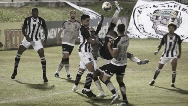 Sem muitas chances, ABC e Ceará empatam no Frasqueirão pela Copa do Nordeste