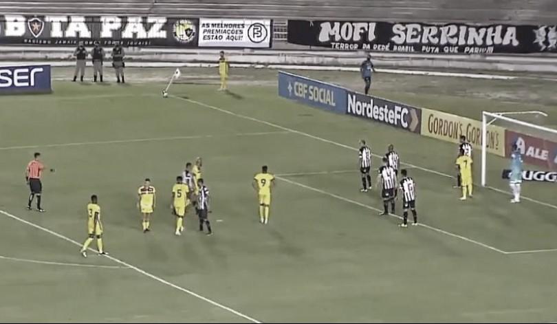 Botafogo-PB sai atrás, mas empata com Sampaio Corrêa