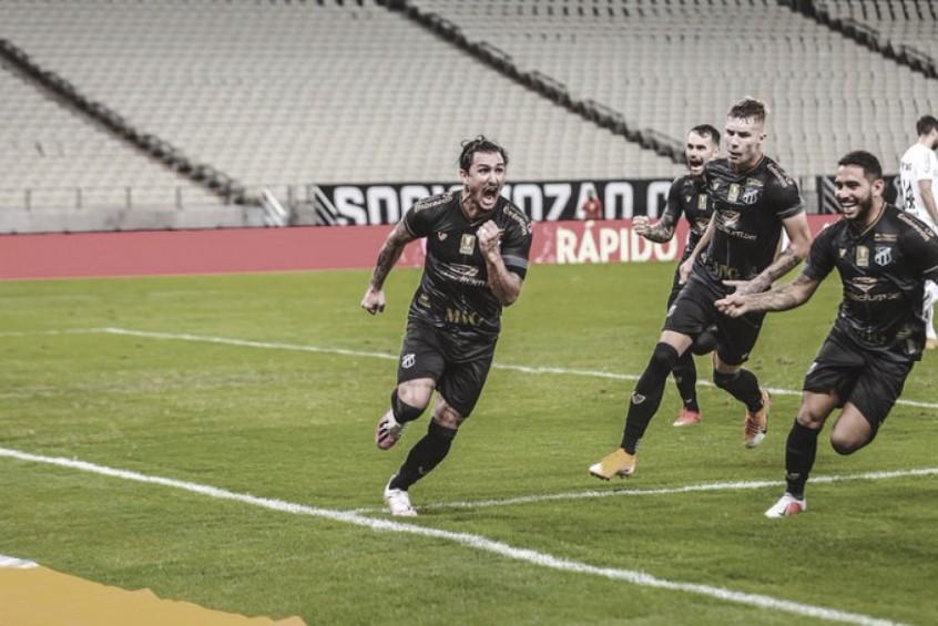 Gols e melhores momentos Ceará 2 x 0 CSA pela Copa do Nordeste 2021