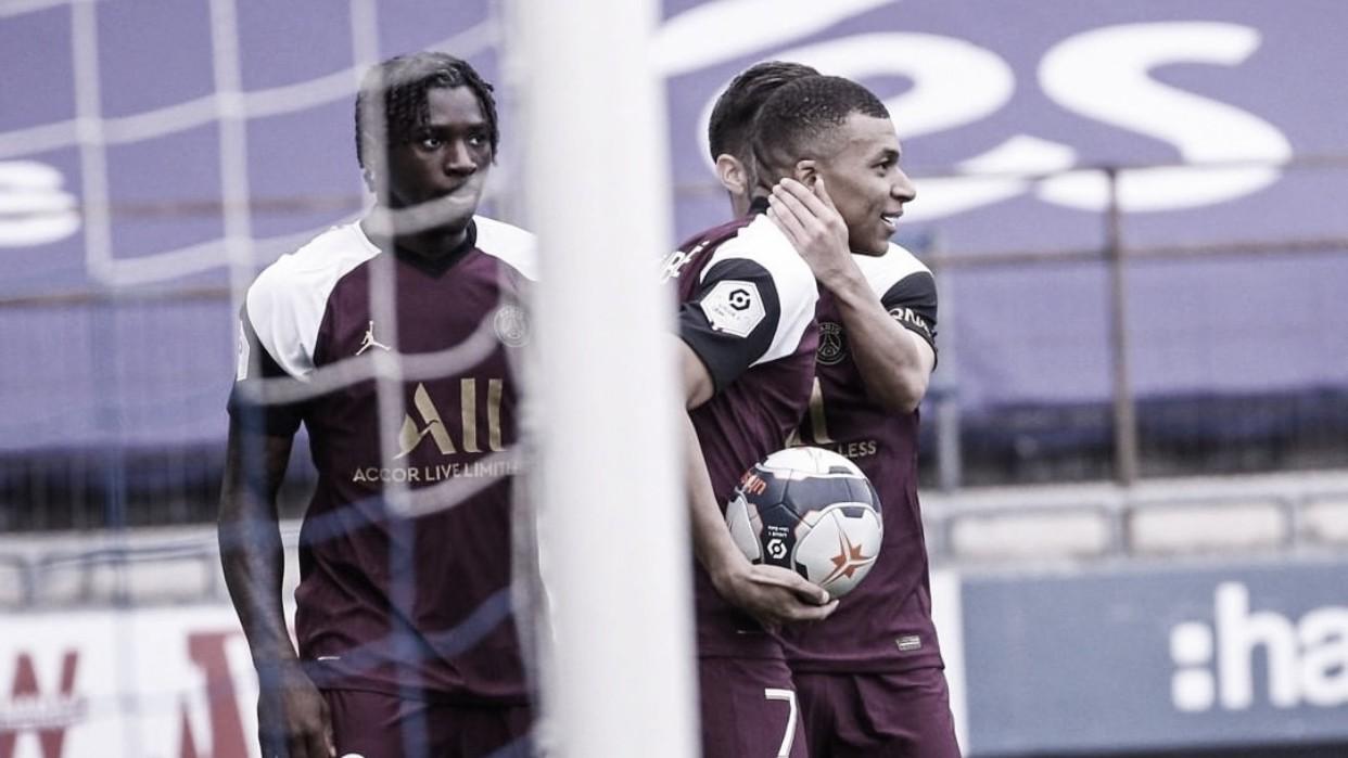 PSG vence Strasbourg fora de casa e diminui vantagem na briga pela liderança