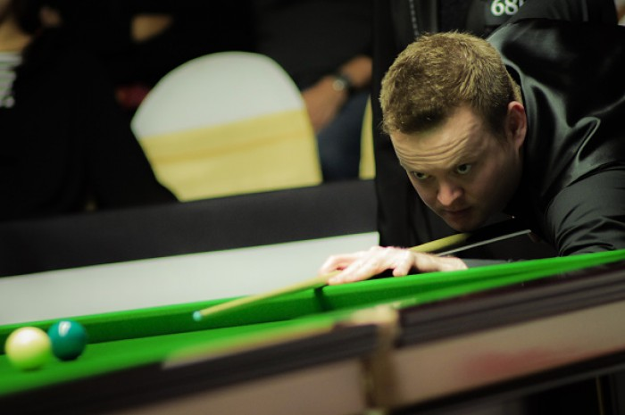Shaun Murphy edges closer to the first back-to-back tournament success of the year