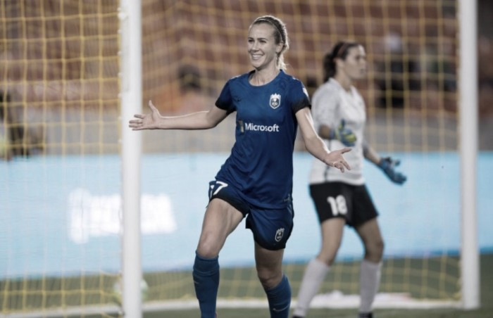 Seattle Reign sends off Keelin Winters with a win against Houston Dash