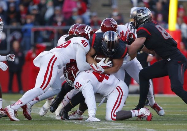 Lions Select Fullback Michael Burton From Rutgers 168 Overall In 5th Round