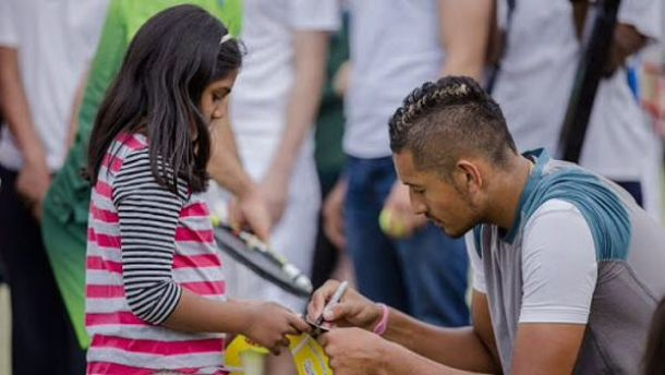 Kyrgios Put On 'Detention' From Former High School, But Trying To Turn Over A New Leaf
