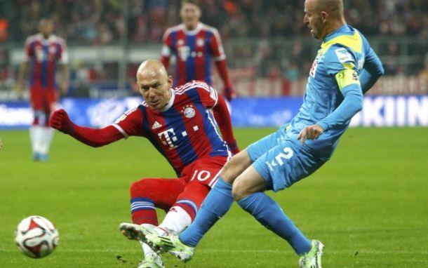 Bayern forza quattro, ma il Colonia gioca e crea