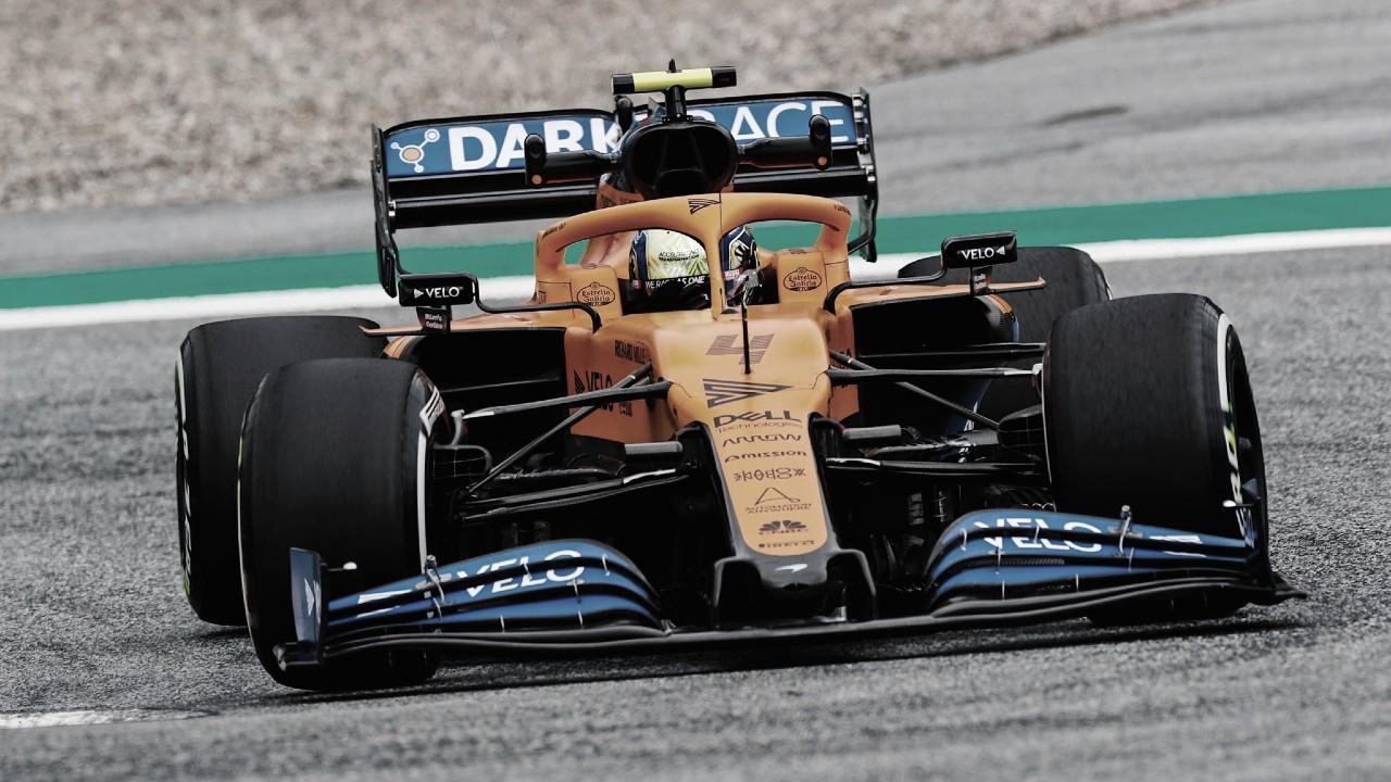 Piloto da McLaren, Lando Norris avalia Spa-Francorchamps como'divertido de dirigir'