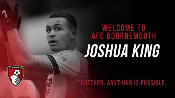 Bournemouth announce Joshua King capture