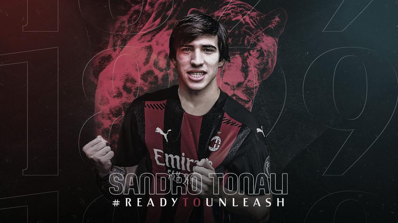Novo Pirlo? Milan acerta com meio-campista Sandro Tonali, do Brescia