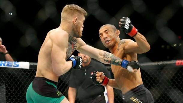 New King: Conor McGregor KOs José Aldo In UFC Title Fight Record 13 Seconds