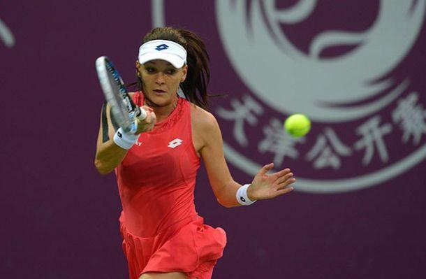 WTA Tianjin: Day Four Recap