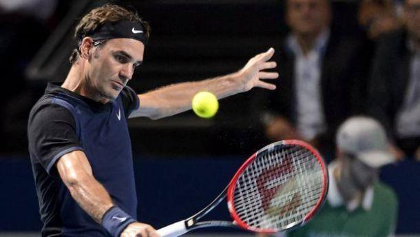 ATP Basilea, che spavento per Federer. Fuori Anderson e Isner