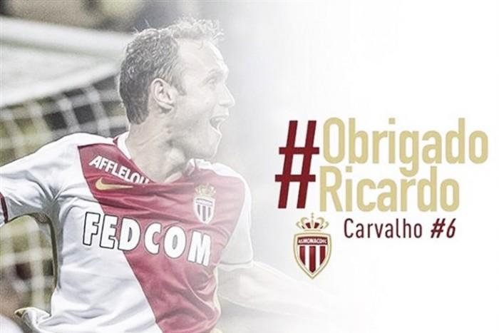 Após três temporadas, Monaco confirma saída de Ricardo Carvalho