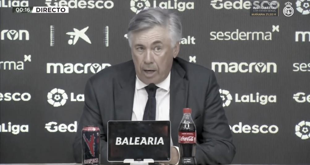 """Carlo Ancelotti: """"Tenemos mucha calidad, el compromiso defensivo es la clave que hay que trabajar"""""""