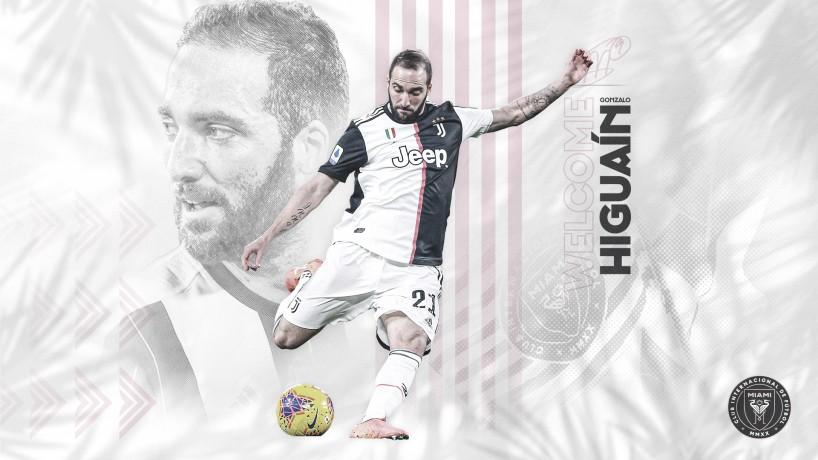 Inter Miami fecha acordo com Gonzalo Higuaín, ex-Juventus