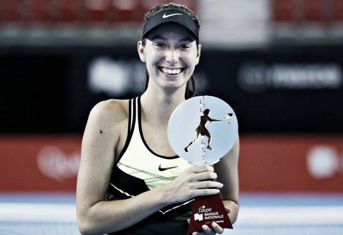 WTA Québec City: Océane Dodin powers her way past Lauren Davis to claim first tour-level title