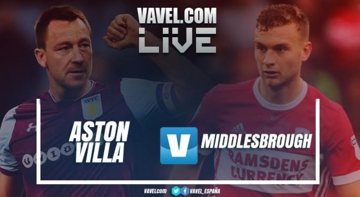 Resumen Aston Villa (0-0) Middlesbrough  en Play-Off Championship 2018