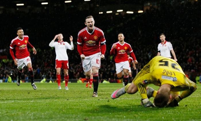 FA Cup, capitan Rooney alla riscossa: il Manchester United la spunta nel finale (1-0)
