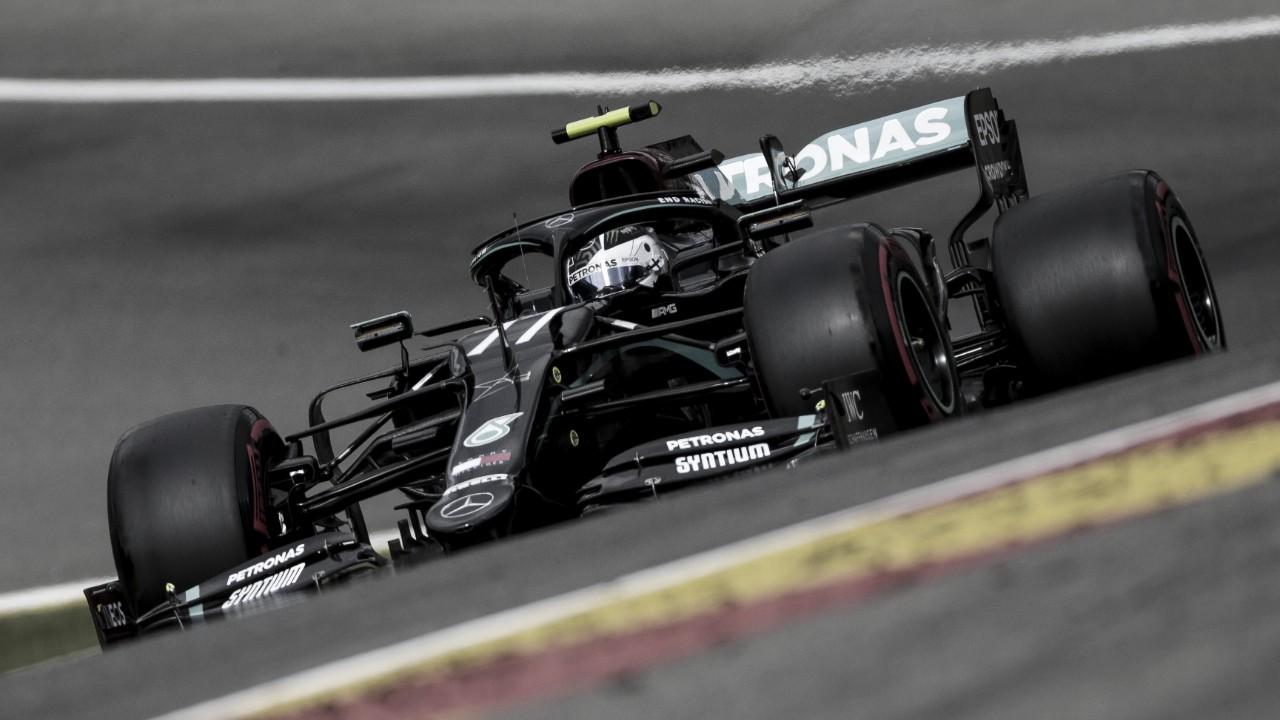 """Bottas fica surpreso por estar 0.5seg atrás de Lewis: """"Não entendi a diferença ser tão grande"""""""