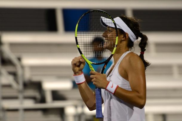 WTA Cincinnati: Caroline Garcia Upsets Struggling Petra Kvitova