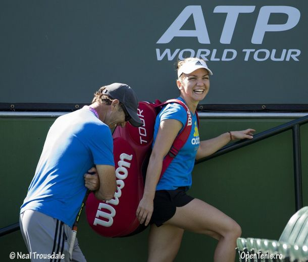 Simona Halep To Work With Coach Darren Cahill Full-Time In 2016