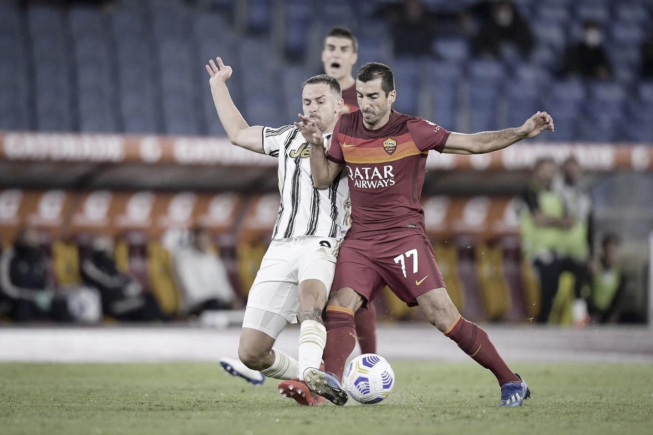 Roma e Juventus empatam em clássico marcado por pênaltis e expulsão