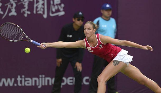 WTA Tianjin: Kovinic To Meet Jovanovski; Pliskova To Meet Radwanska