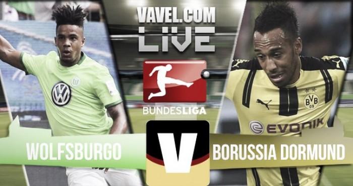 El Dortmund golea en Wolfsburgo