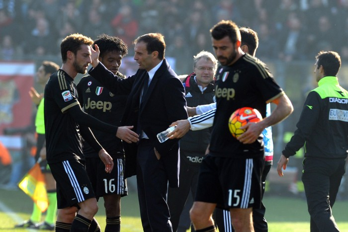 Juventus-Carpi, i precedenti in A