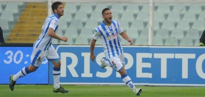 Serie B, il Pescara demolisce il Lanciano e vola al terzo posto: 4-0 all'Adriatico
