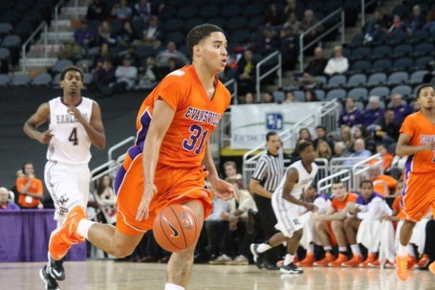 D.J. Balentine And Egidijus Mockevicius Lead Evansville Purple Aces To Season Opening Win Over Southeast Missouri State